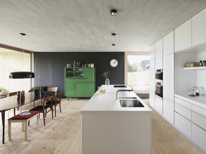 diseño, contemporáneo, cocina, comedor, dekoloop