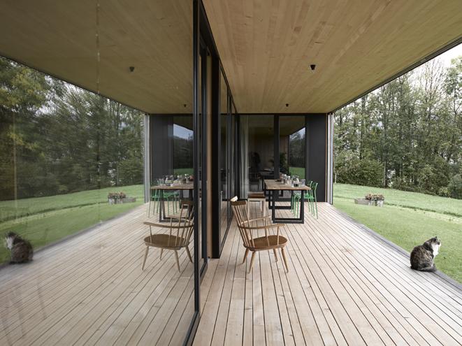 diseño, contemporáneo, terraza, dekoloop